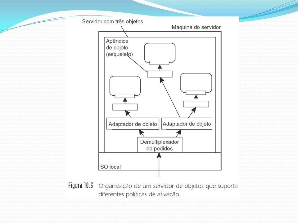 Sistemas Distribuídos Baseados em Objetos – Capítulo 10