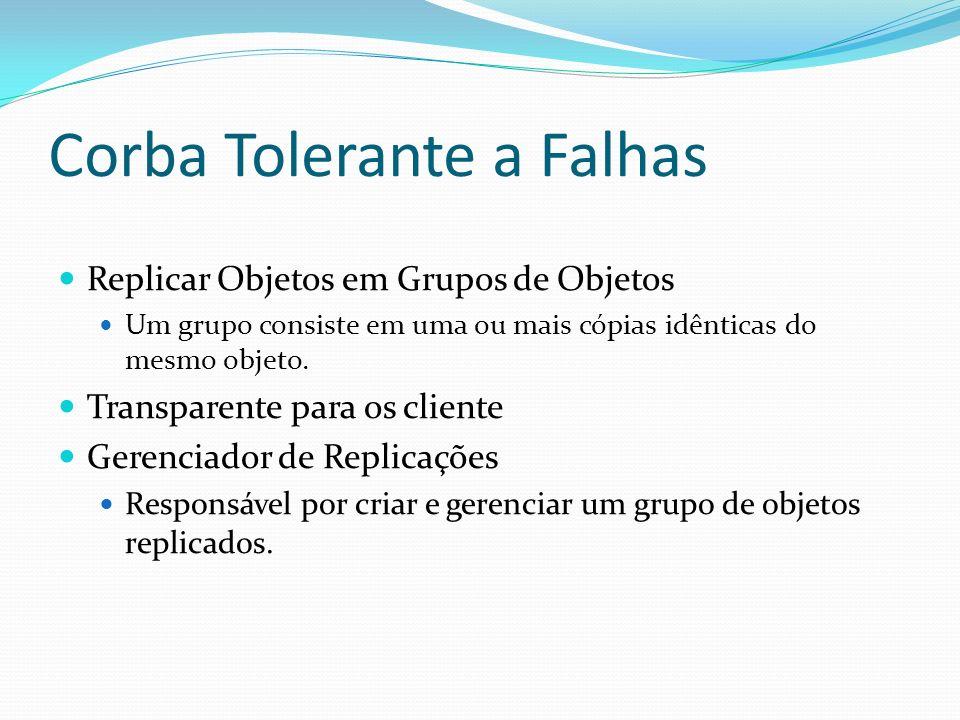Corba Tolerante a Falhas