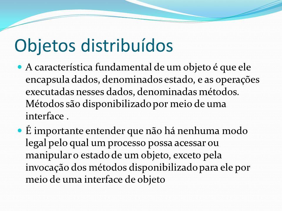 Objetos distribuídos