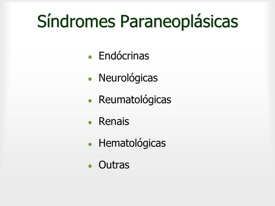 Síndromes Paraneoplásicas