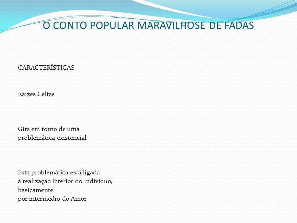 O CONTO POPULAR MARAVILHOSE DE FADAS