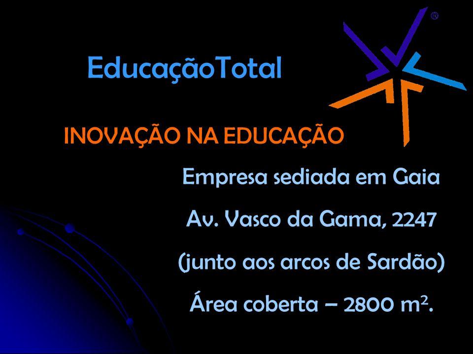 EducaçãoTotal INOVAÇÃO NA EDUCAÇÃO Empresa sediada em Gaia