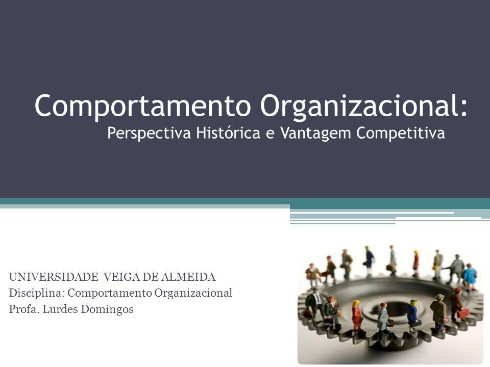 Comportamento Organizacional: Perspectiva Histórica e Vantagem Competitiva