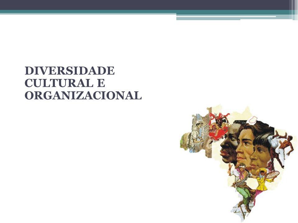 DIVERSIDADE CULTURAL E ORGANIZACIONAL