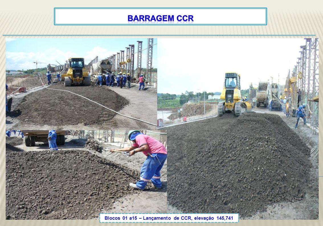 Blocos 01 a15 – Lançamento de CCR, elevação 145,741