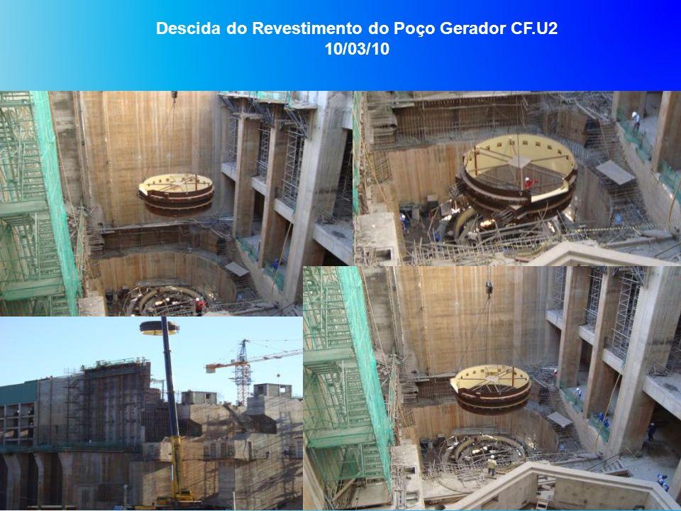 Descida do Revestimento do Poço Gerador CF.U2 10/03/10