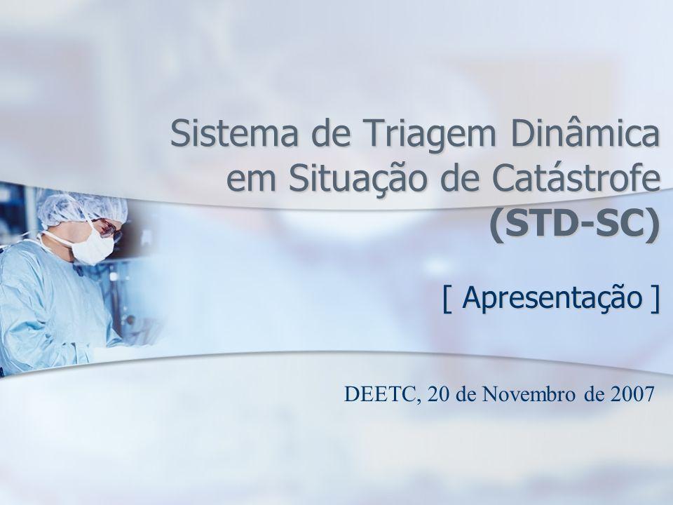 Sistema de Triagem Dinâmica em Situação de Catástrofe (STD-SC)