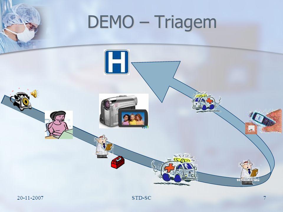 DEMO – Triagem 20-11-2007 STD-SC
