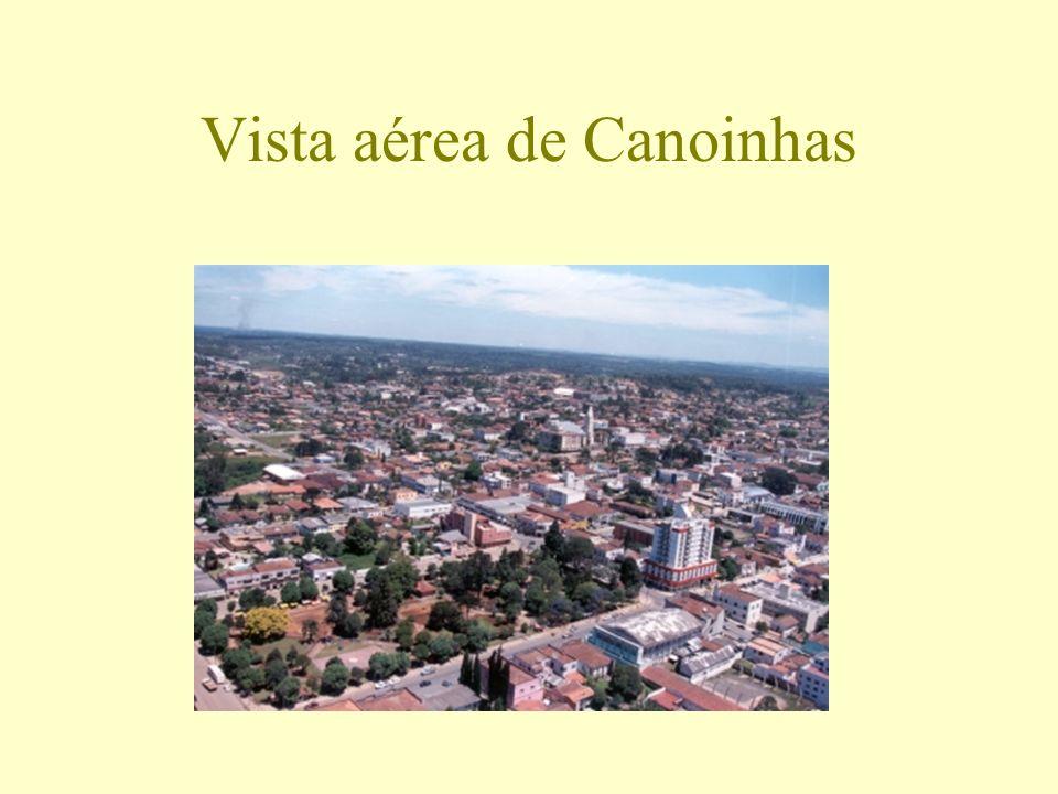 Vista aérea de Canoinhas