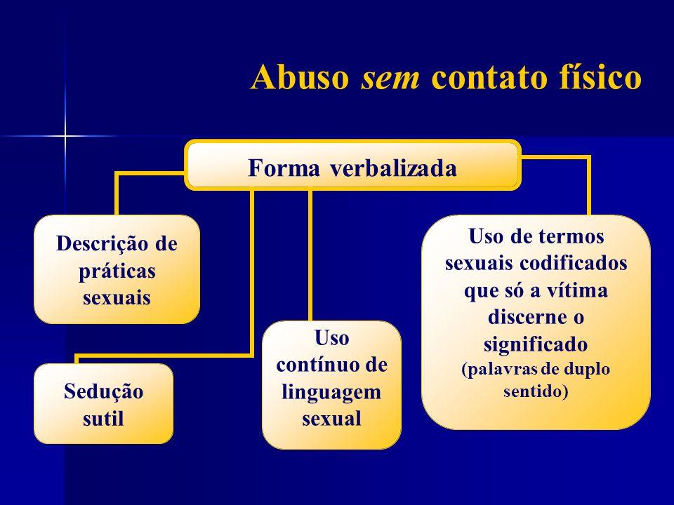 Abuso sem contato físico