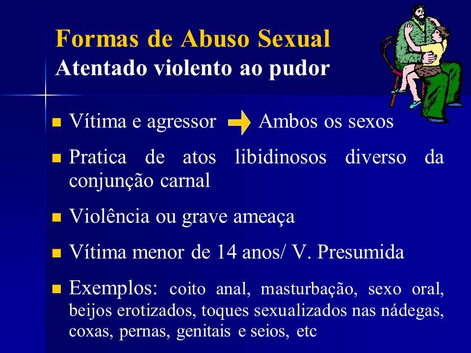 Formas de Abuso Sexual Atentado violento ao pudor