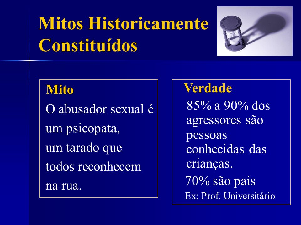 Mitos Historicamente Constituídos