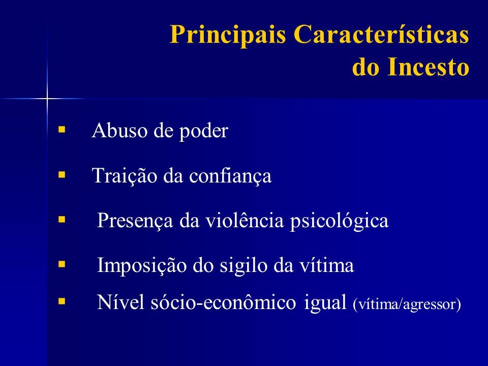 Principais Características do Incesto