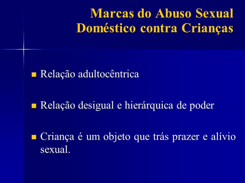 Marcas do Abuso Sexual Doméstico contra Crianças