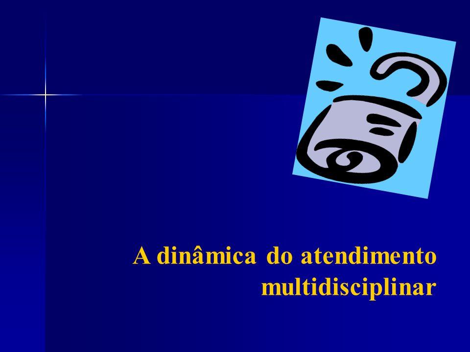 A dinâmica do atendimento multidisciplinar