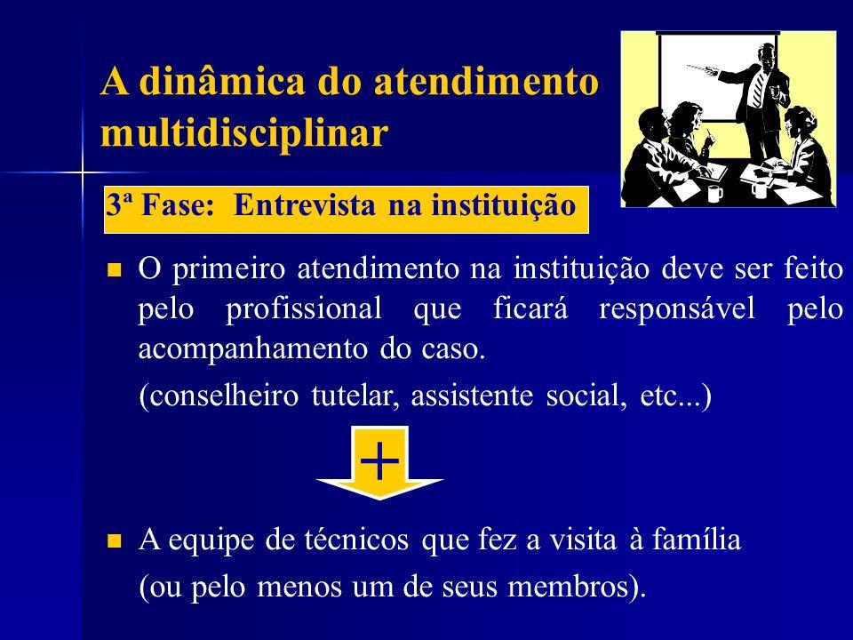 + A dinâmica do atendimento multidisciplinar
