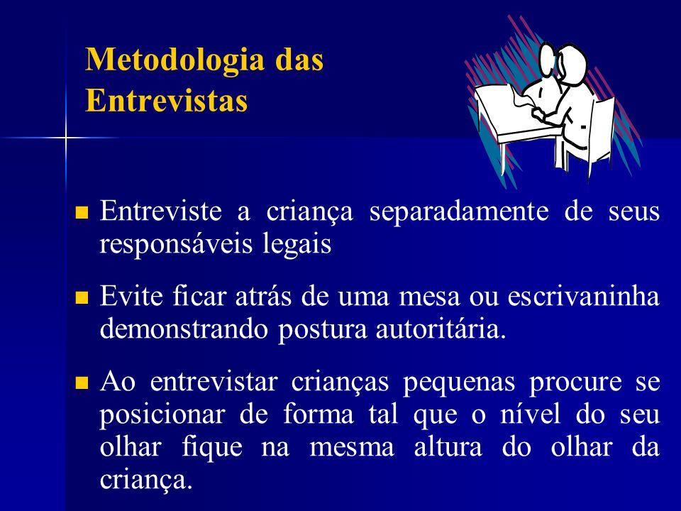Metodologia das Entrevistas