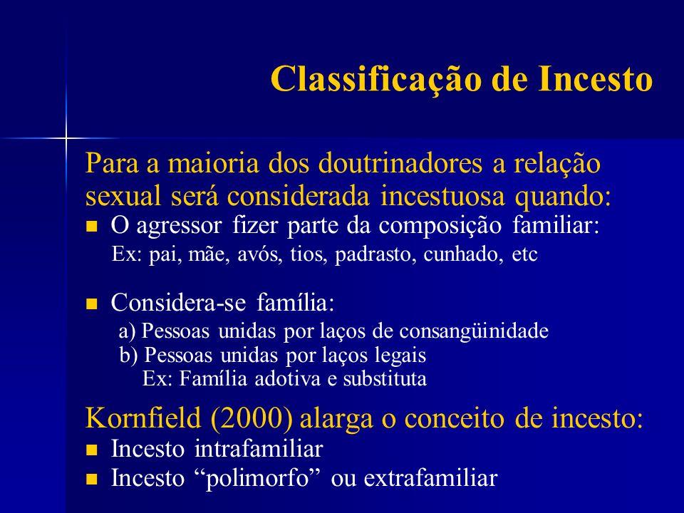 Classificação de Incesto