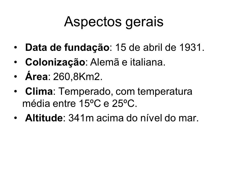 Aspectos gerais Data de fundação: 15 de abril de 1931.