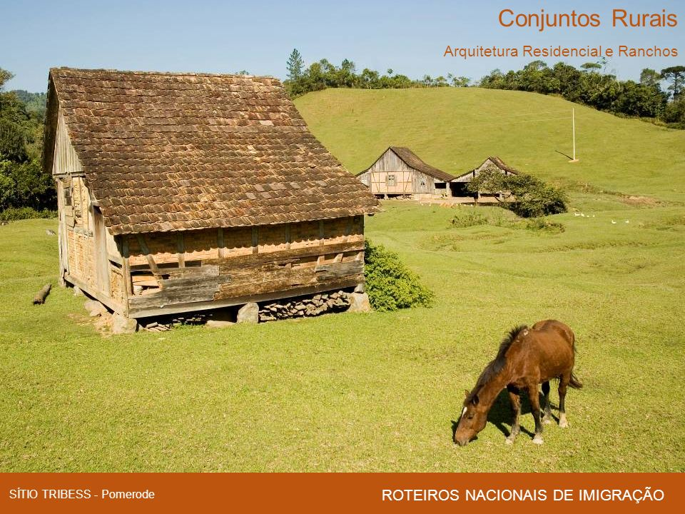 Conjuntos Rurais Arquitetura Residencial e Ranchos