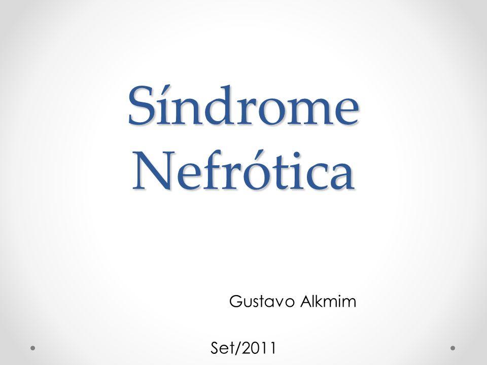 Síndrome Nefrótica Gustavo Alkmim Set/2011