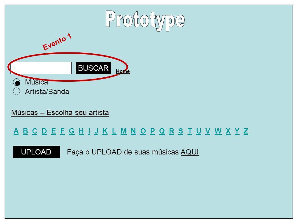 Prototype Evento 1 BUSCAR Música Artista/Banda