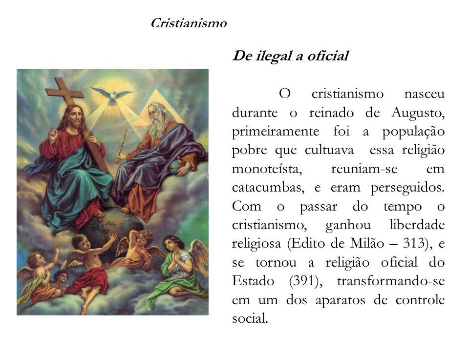 Cristianismo De ilegal a oficial.