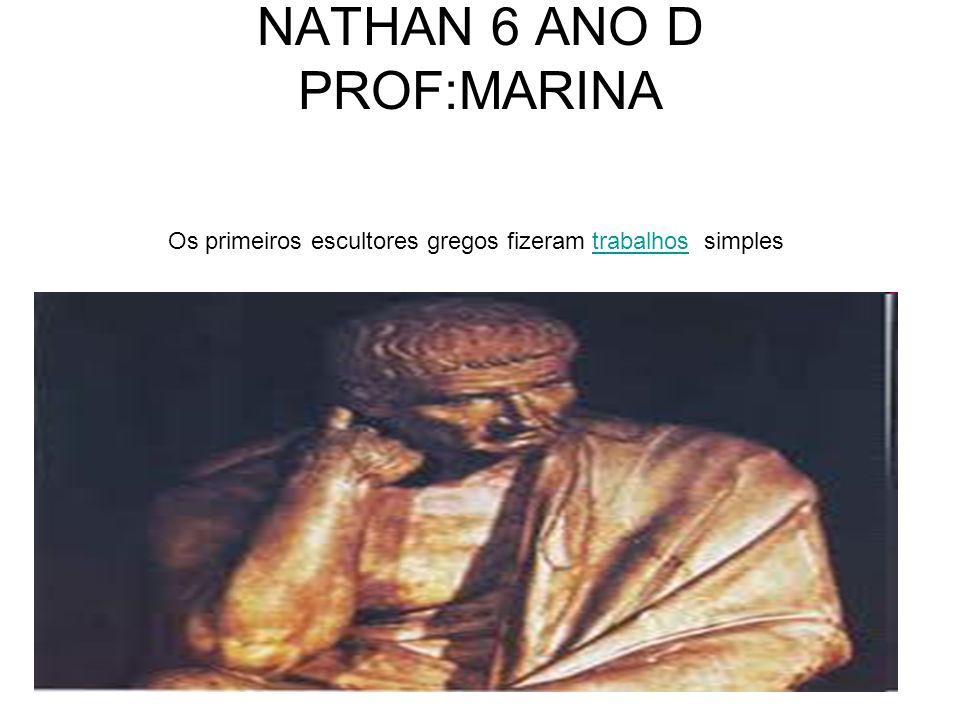 NATHAN 6 ANO D PROF:MARINA