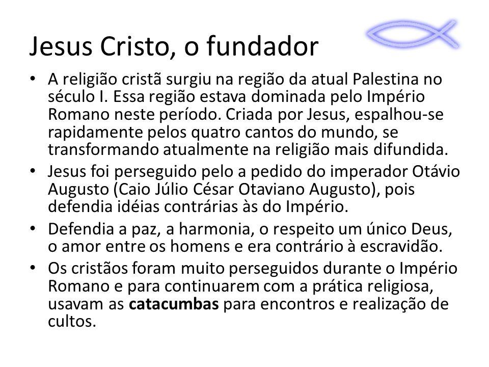 Jesus Cristo, o fundador