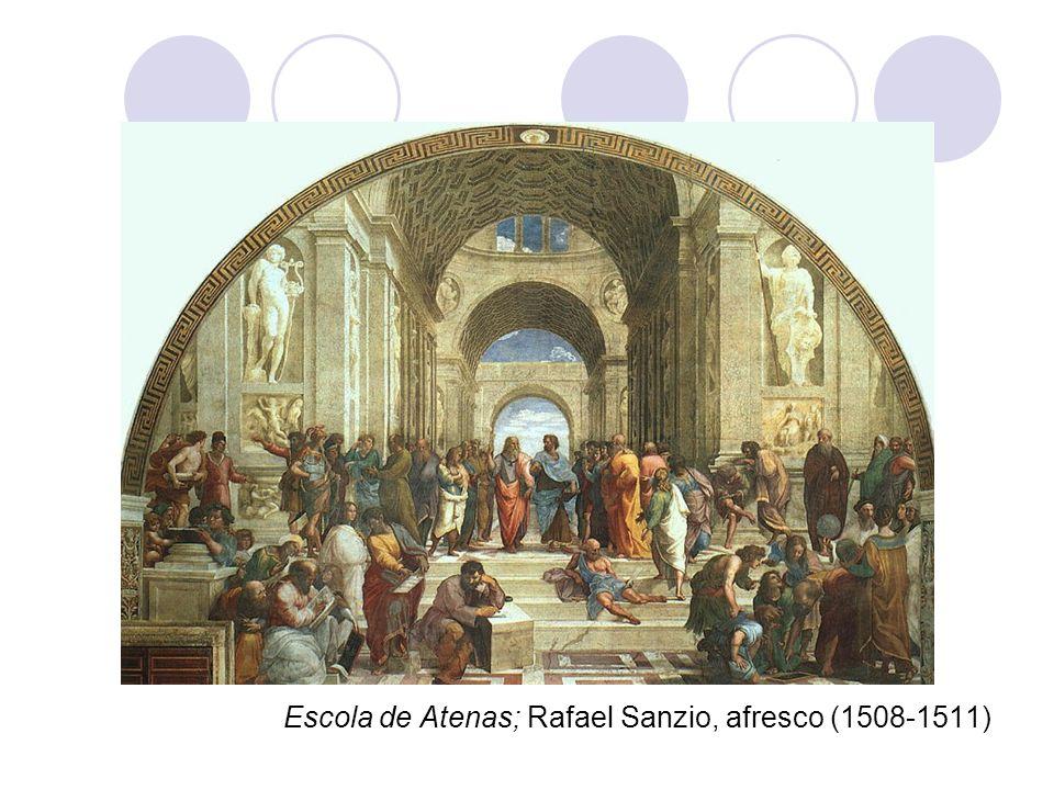 Escola de Atenas; Rafael Sanzio, afresco (1508-1511)