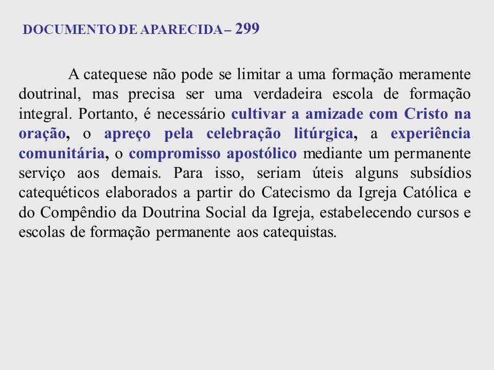 DOCUMENTO DE APARECIDA – 299