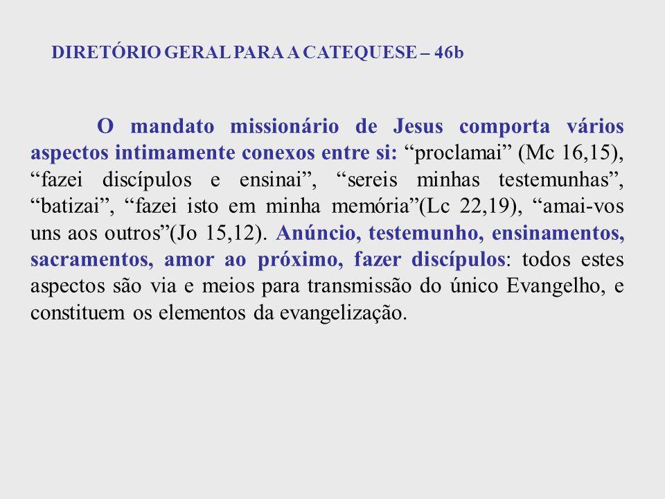 DIRETÓRIO GERAL PARA A CATEQUESE – 46b