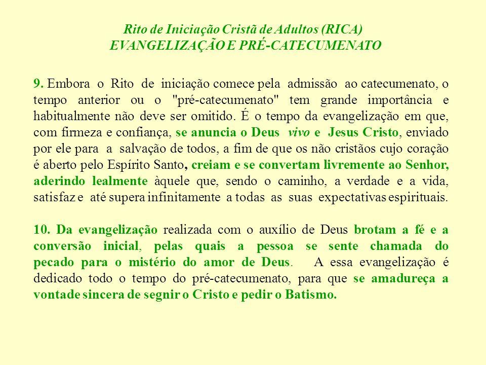 Rito de Iniciação Cristã de Adultos (RICA)
