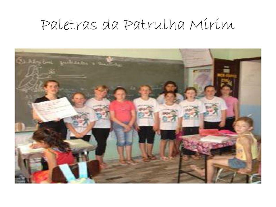 Paletras da Patrulha Mirim