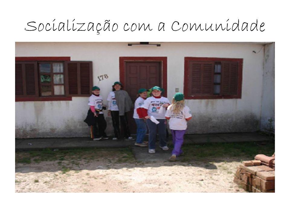 Socialização com a Comunidade