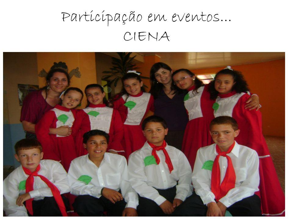 Participação em eventos... CIENA