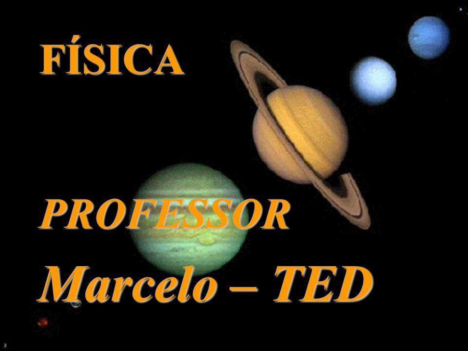 FÍSICA PROFESSOR Marcelo – TED