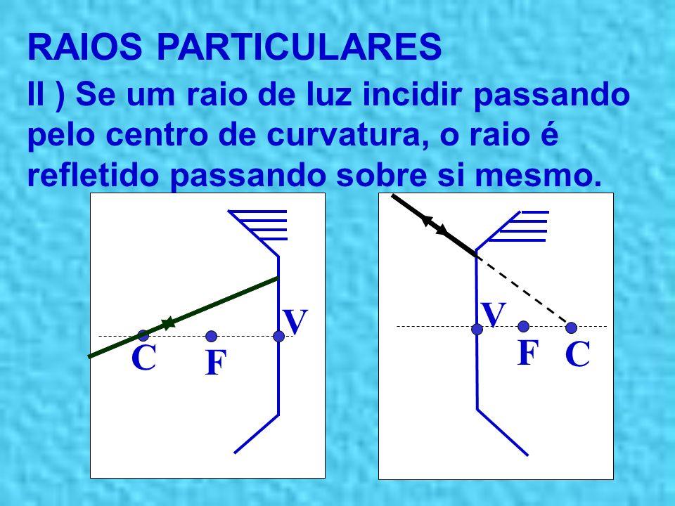 RAIOS PARTICULARES V V F C C F