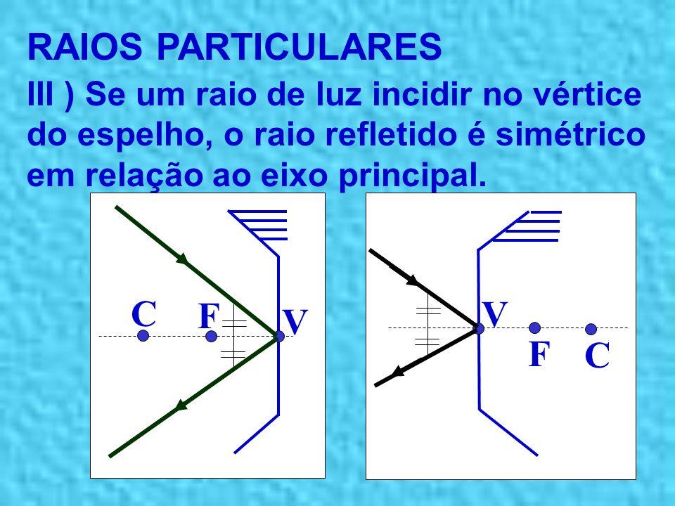 RAIOS PARTICULARES C F V V F C