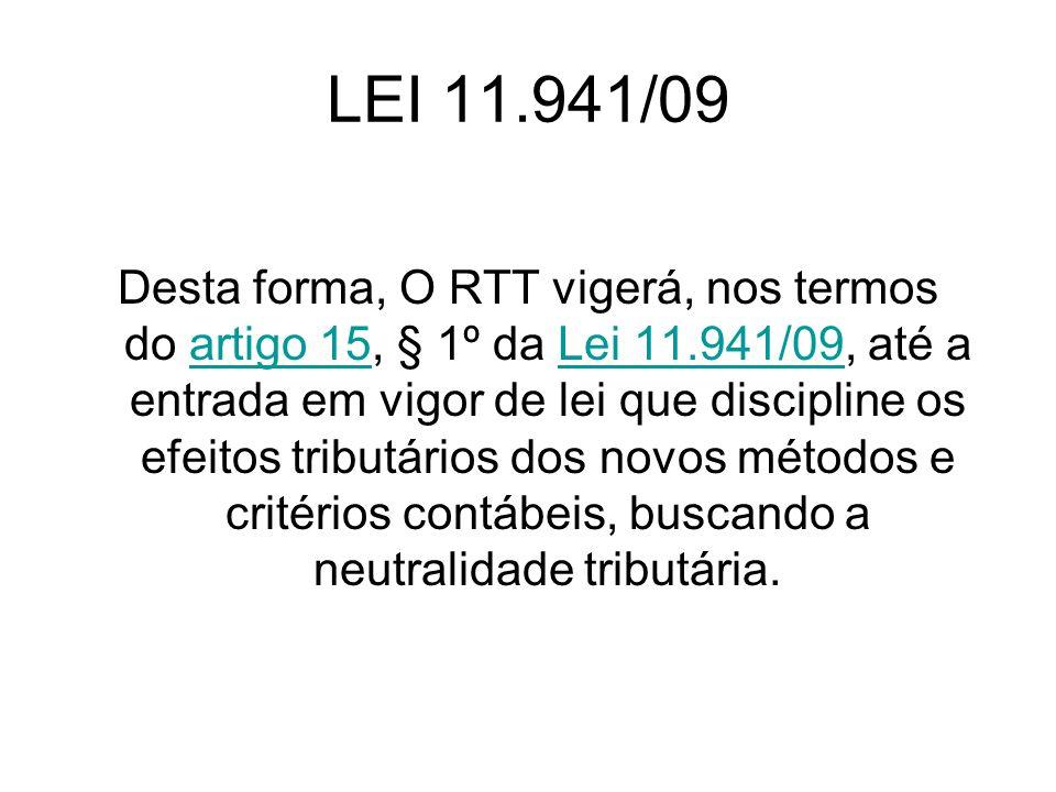 LEI 11.941/09