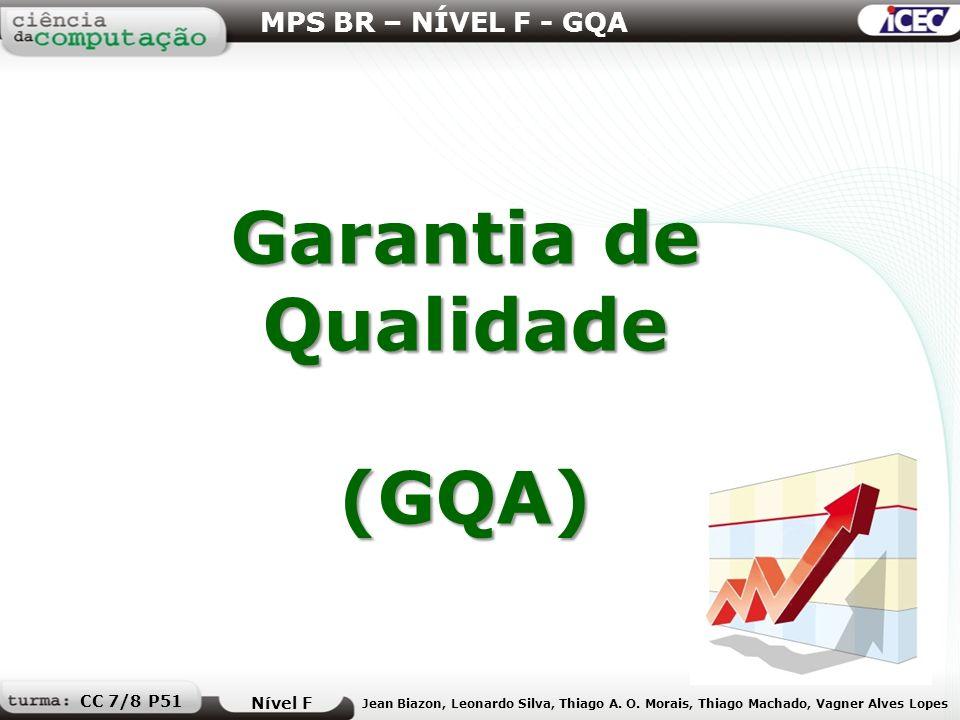 Garantia de Qualidade (GQA)