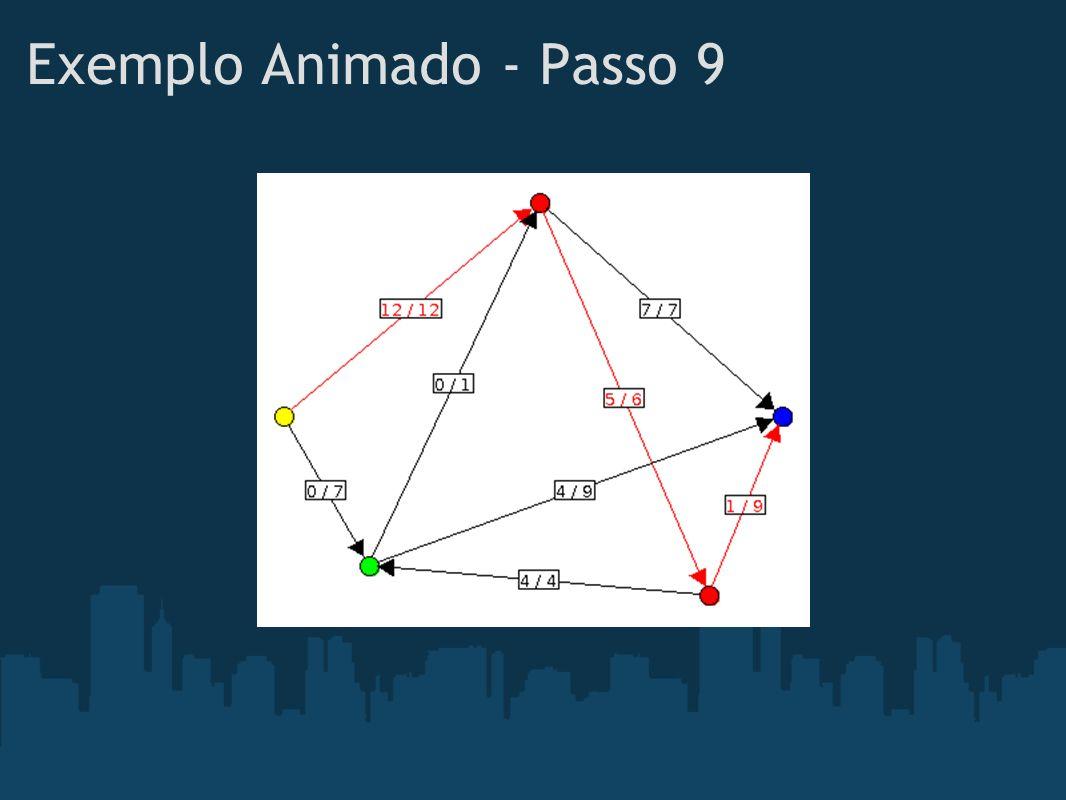Exemplo Animado - Passo 9