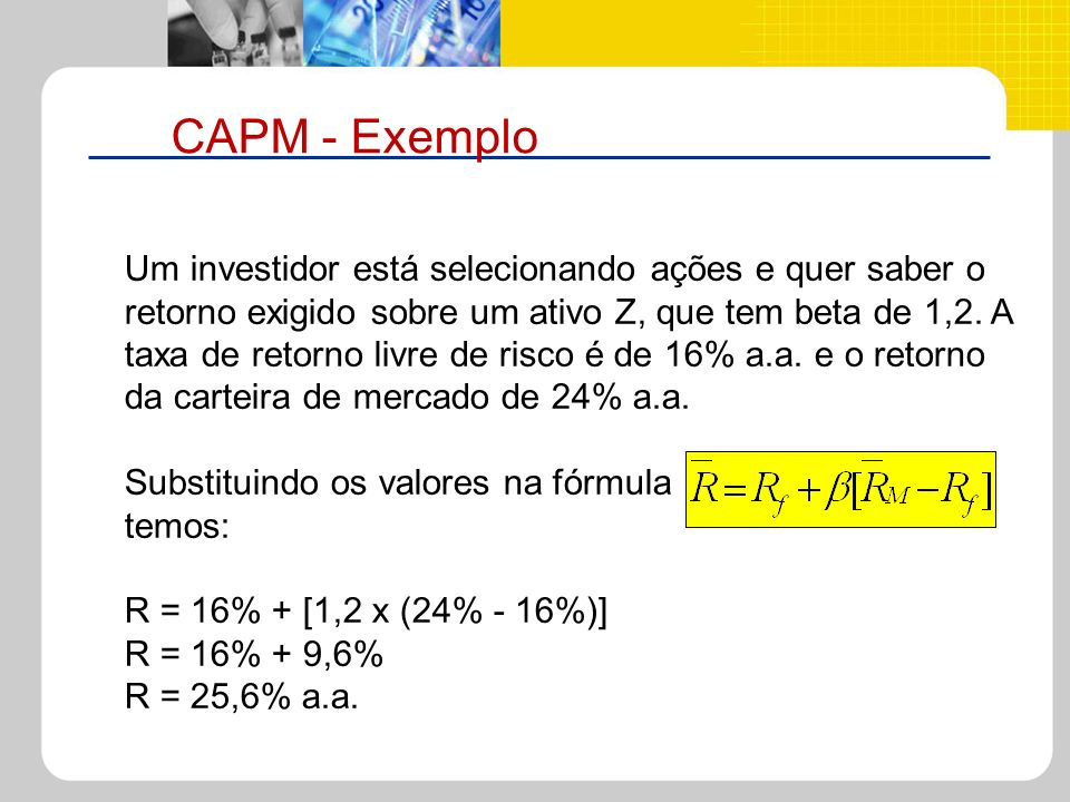 CAPM - Exemplo