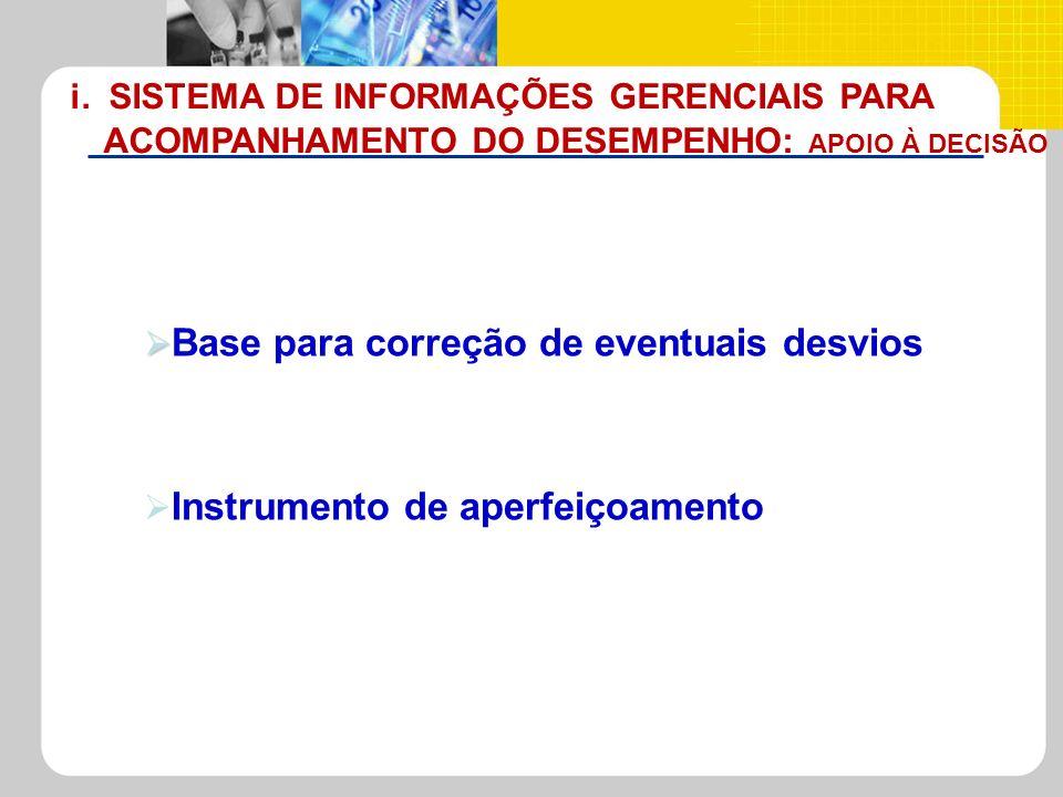 i. SISTEMA DE INFORMAÇÕES GERENCIAIS PARA