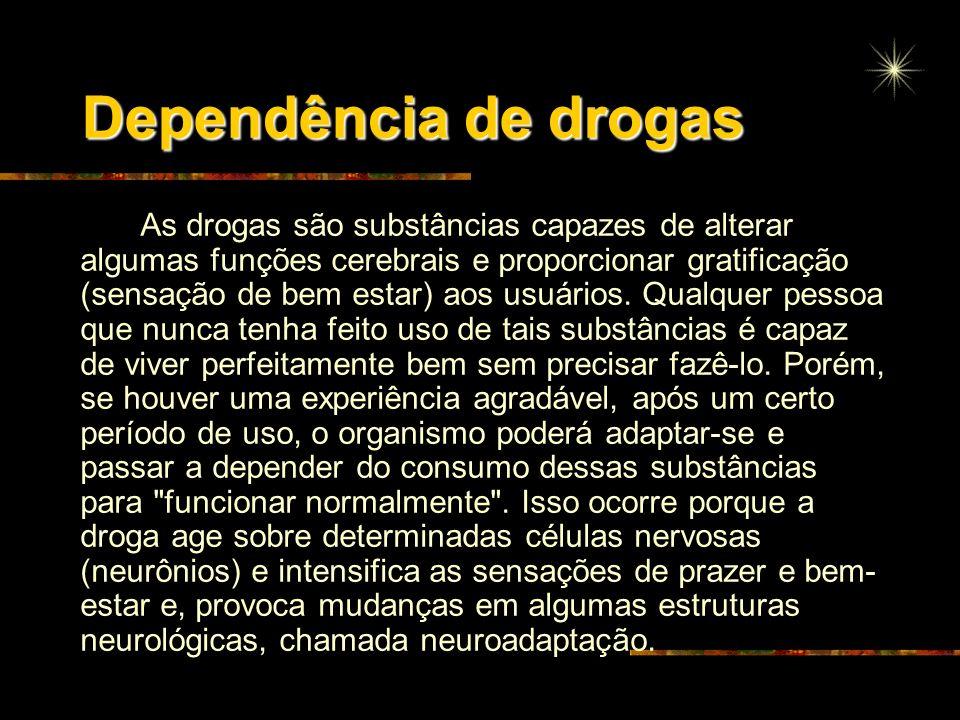 Dependência de drogas