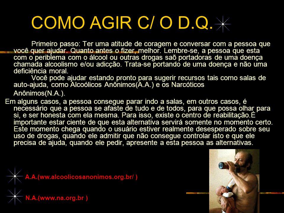 COMO AGIR C/ O D.Q.