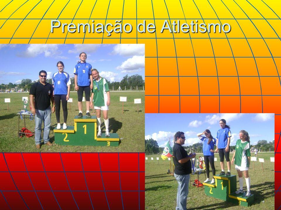 Premiação de Atletismo