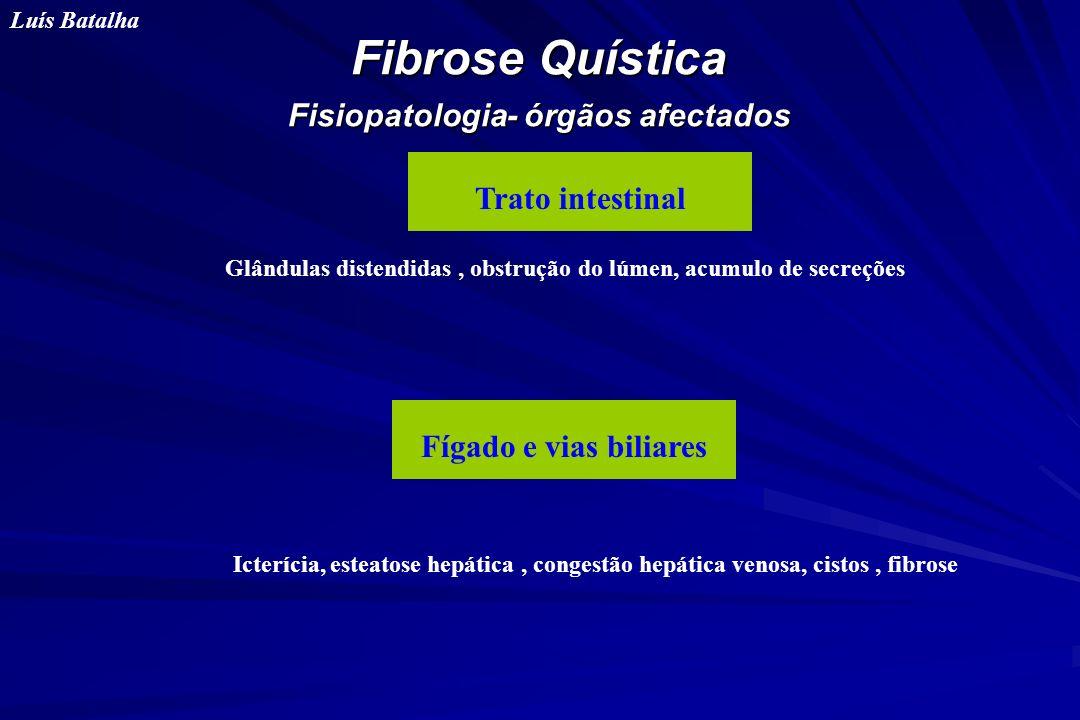 Fibrose Quística Fisiopatologia- órgãos afectados