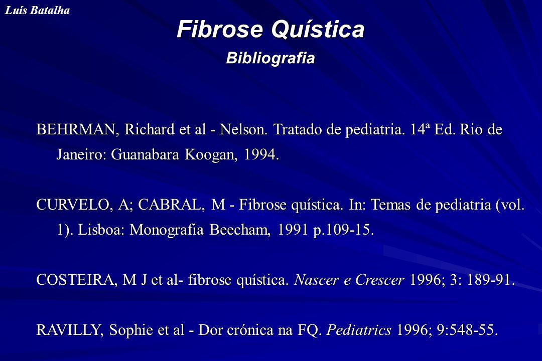 Fibrose Quística Bibliografia