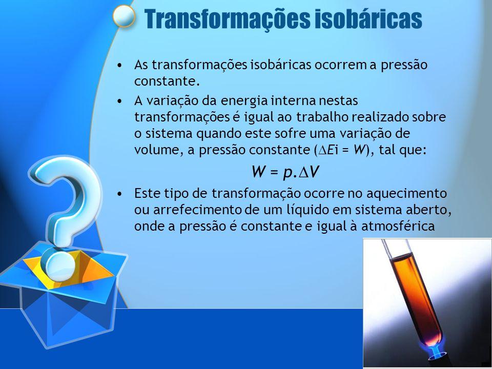 Transformações isobáricas